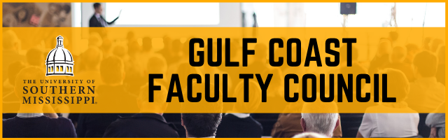 Gulf Coast Faculty Council Minutes