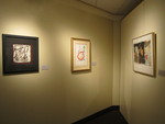 Cook Library Art Gallery (DeWitt, Mirò)