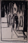 Untitled (Church in a Landscape) by Tommie Bush-Rogers