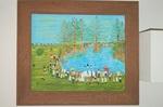 Baptizing (Mississippi Delta Plantation Scene)
