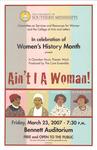 """The Core Ensemble: """"Ain't I A Woman!"""" by CSRW"""