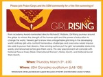"""Girl Rising"" film screening by CSRW"