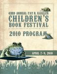 Fay B. Kaigler Children's Book Festival by Karen Rowell, The University of Southern Mississippi, and The University of Southern Mississippi's School of Library and Information Science