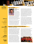 Library Focus (Fall 2014) by University Libraries