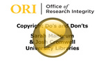 Copyright Do's and Don'ts